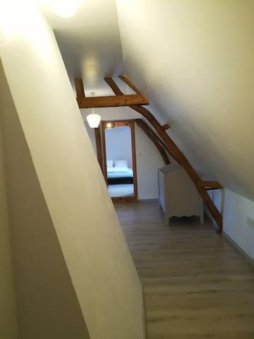 étage des chambres
