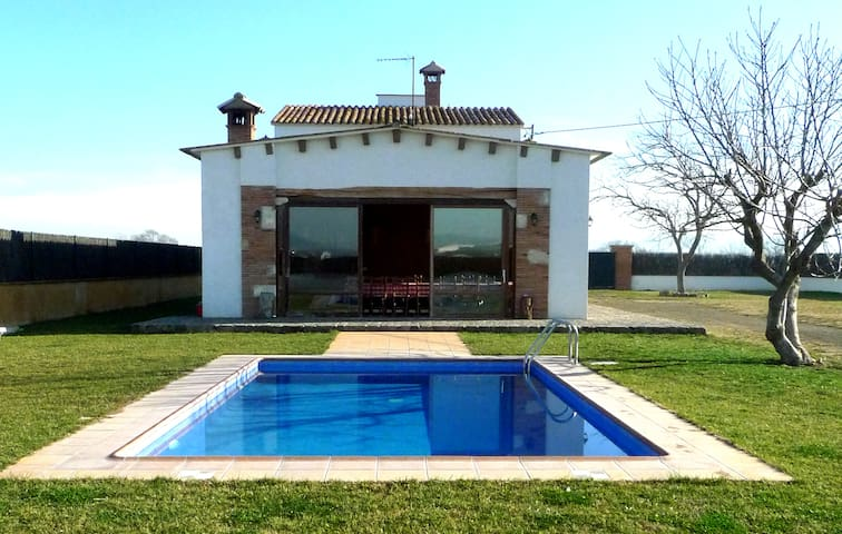 Can Roig, casa rural restaurada.  - Vidreres - บ้าน