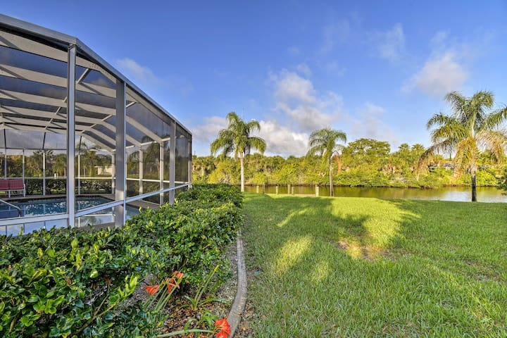 NEW! 3BR Port Charlotte Home w/Lanai, Pool & Dock!