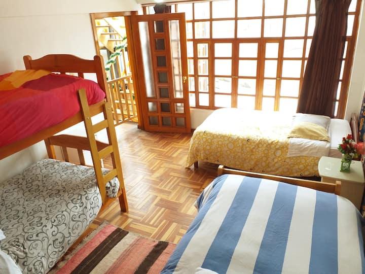 Beautiful and bright private Dormitory