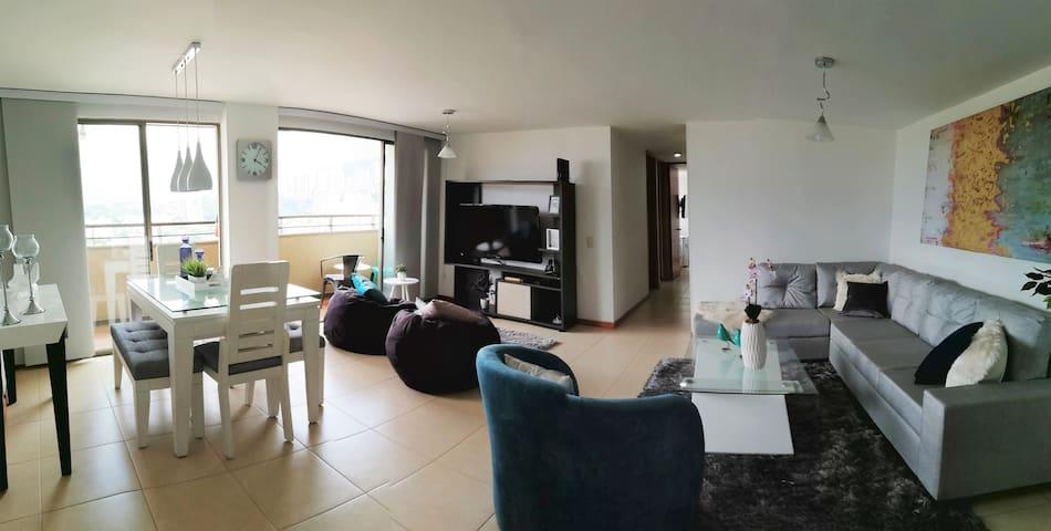 Apartamento con la mejor vista de Medellín