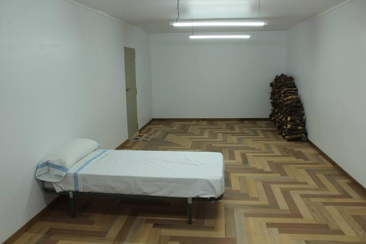 Casa única con fuego antiguo