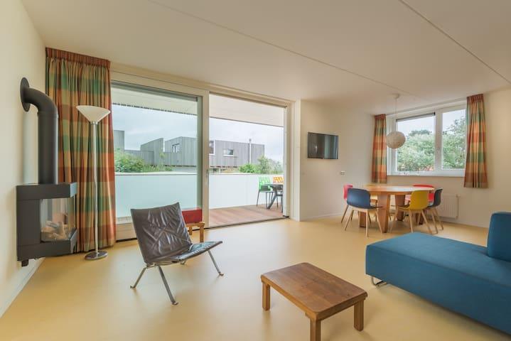 Luxe appartement op Schiermonnikoog KK5 - Schiermonnikoog - อพาร์ทเมนท์