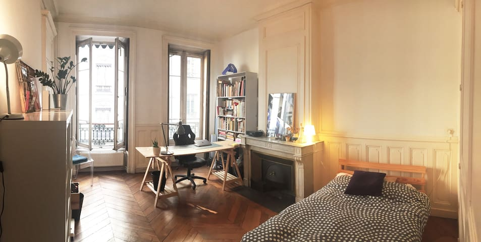 Grande chambre dans bel appartement City center