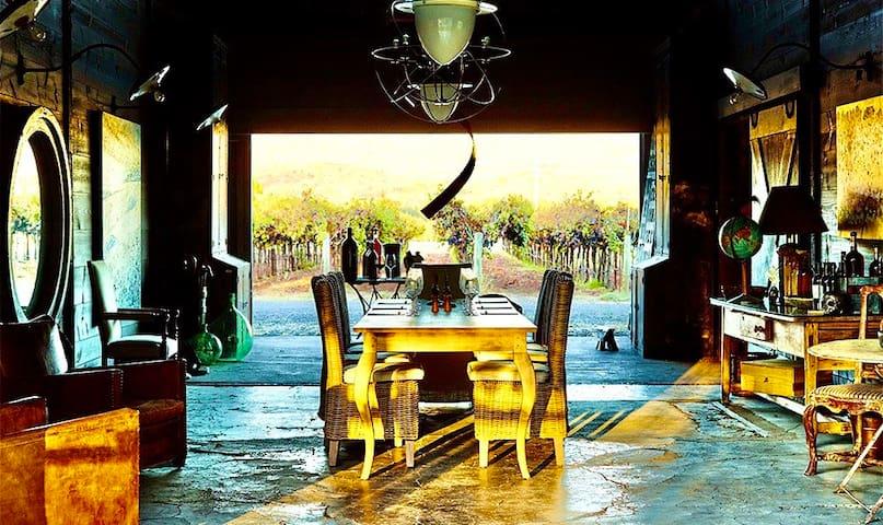 Vineyard Farmhouse-Napa Valley/Blackbird Vineyard