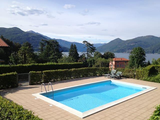Villa Belvedere - Lago Maggiore - Brezzo di Bedero - Byt