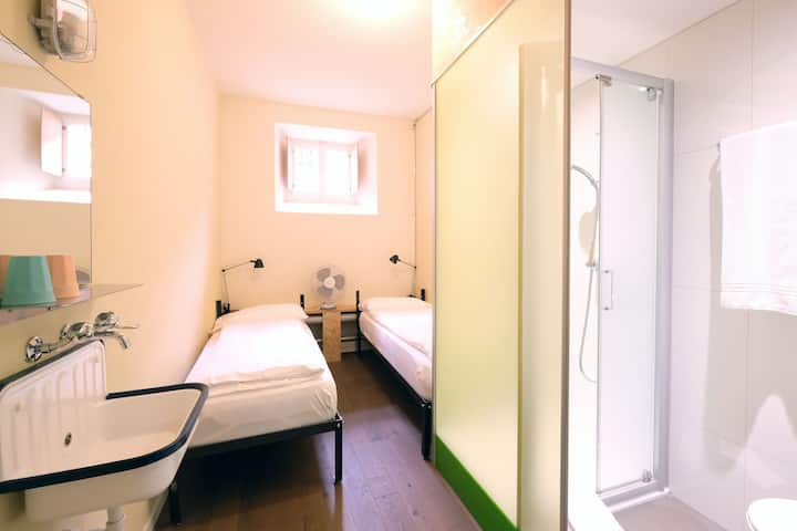 Hotel BARABAS - double room in the prison hotel