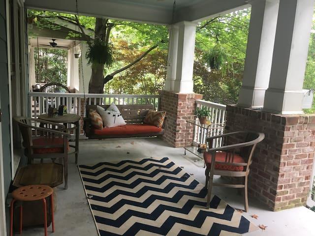 Spacious 3-room suite in Inman Park