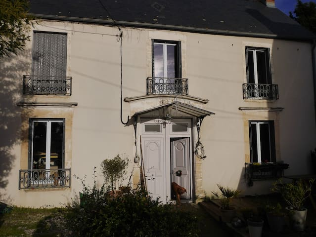 Large charming house in Bayeux, Normandy