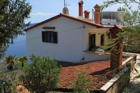 Studio flat with terrace and sea view Mošćenička Draga, Opatija (AS-7625-c) - Obrš - 其它