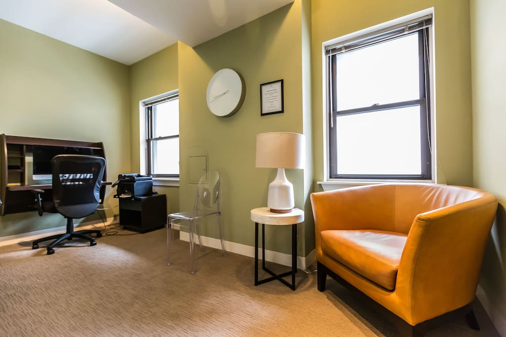 Stay Alfred Philadelphia Vacation Rental Lobby