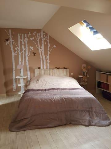 Chambre dans maison de ville