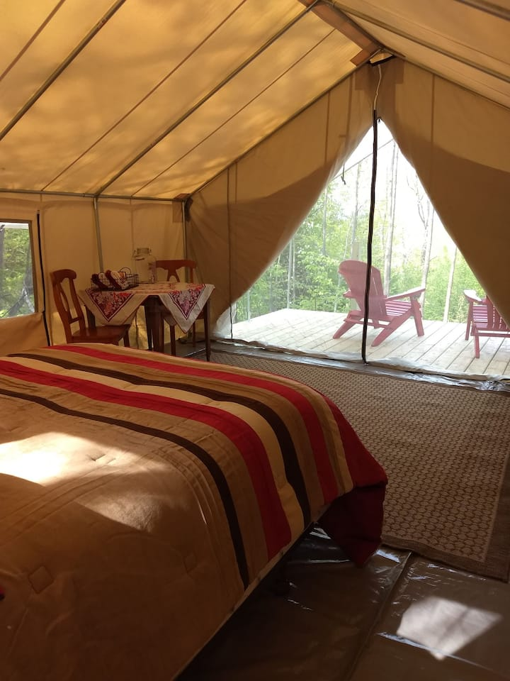 Twisting Twig Gardens and Orchard Wall Tent