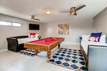 Game Room/5th Bedroom with trundle beds