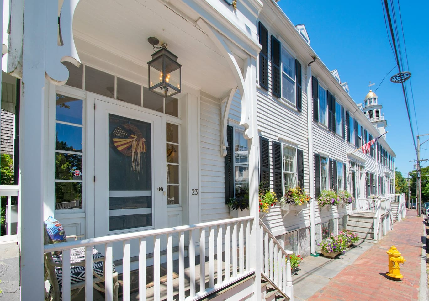 The Captain's House. Lucy's Opus is the premiere home in the historical Folger's Block. Serving to Captain Folger it has been lovingly & meticulously preserved and updated to 2019.  A true gem that offers a Nantucket experience like none other.