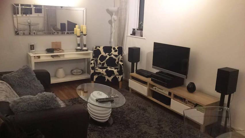Cosy and quiet room in apt near City Centre & Uni. - Newcastle upon Tyne - Huoneisto