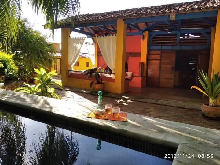 LA GUACAMAYA su hospedaje exclusivo en Morrocoy.