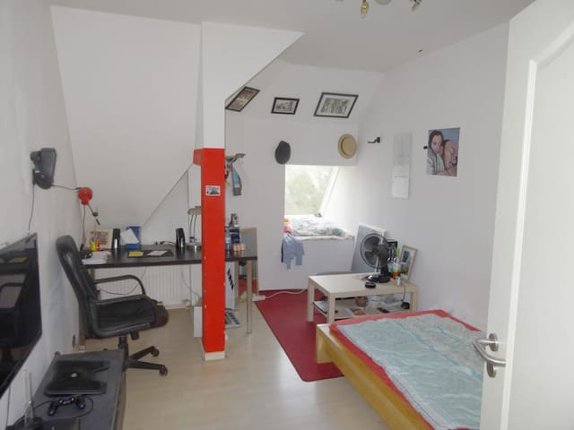 Zimmer, 13qm in Altbauwohnung nähe Milaneo