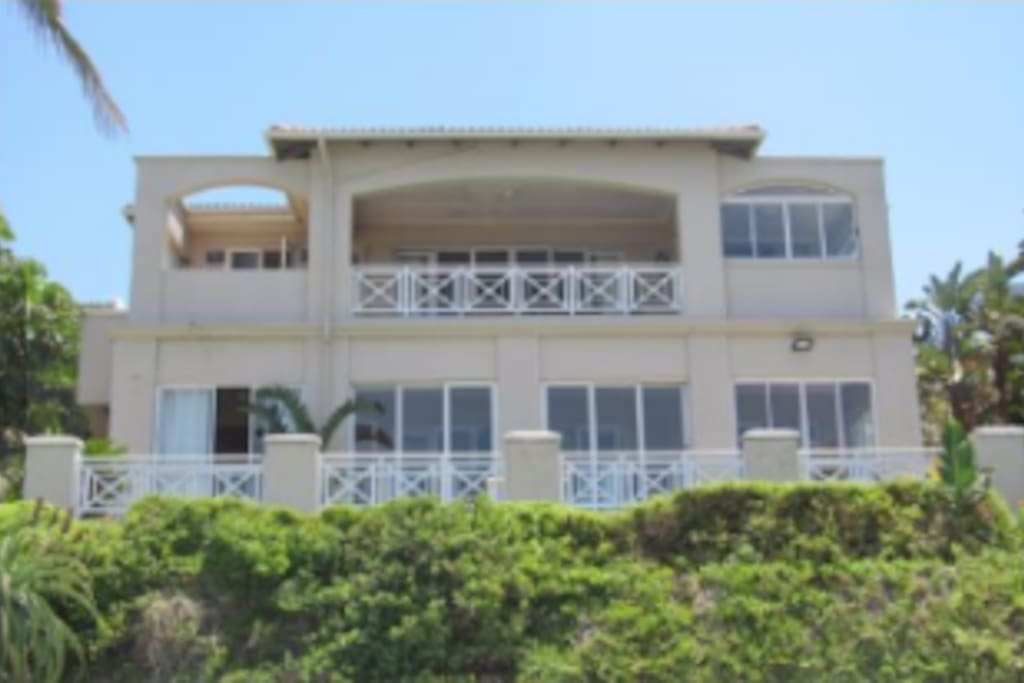 Front View - The Villas 4 is upstairs