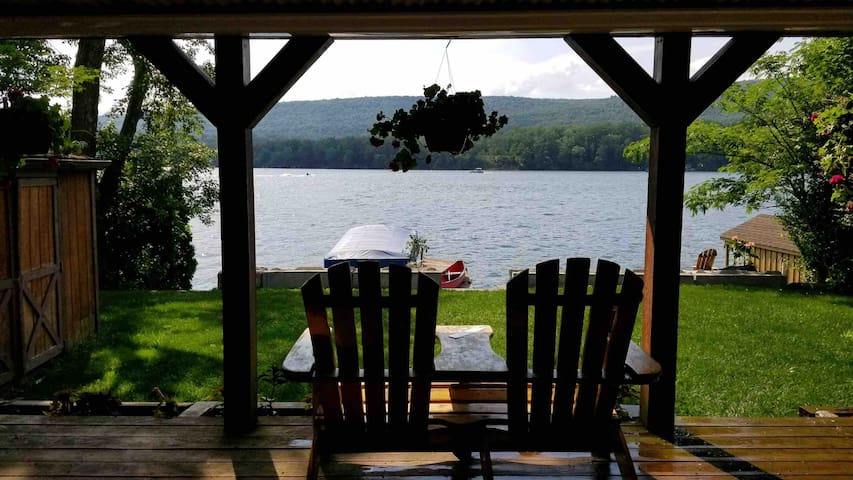 Adirondack Lake Retreat located in northern NJ.