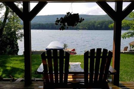 Adirondack Lake Retreat located in northern NJ.