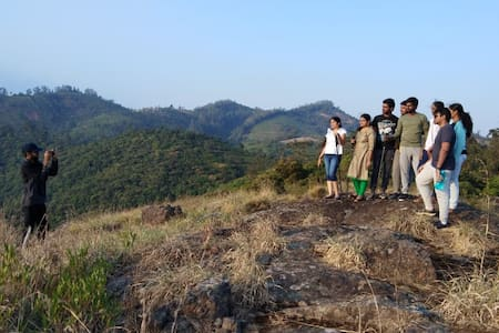 Camping, Forest safari Ride, Hiking, Cycling