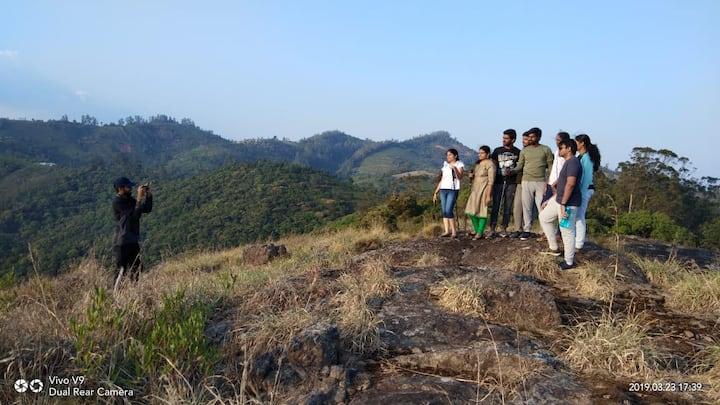 Camping, Forest safari Ride, Hiking, Cycling