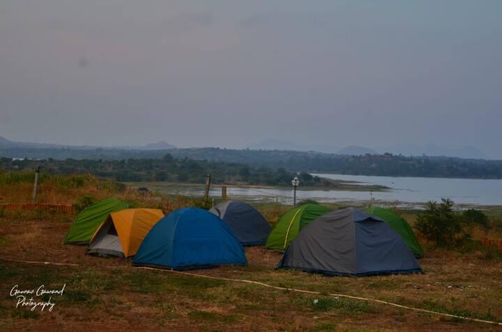 Tent stay @Takshashila