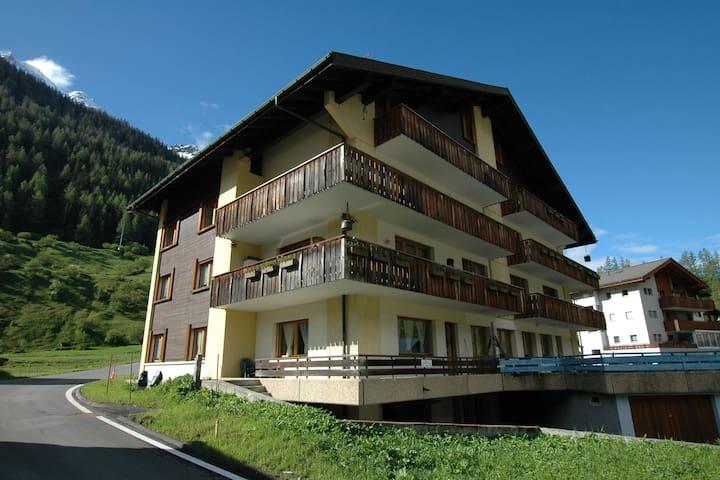 Modern Apartment in Blatten with Open Kitchen