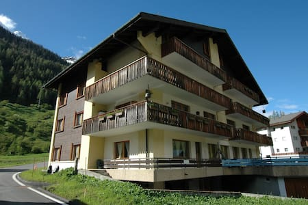 Apartment in Blatten with Mountain Views & Open Kitchen