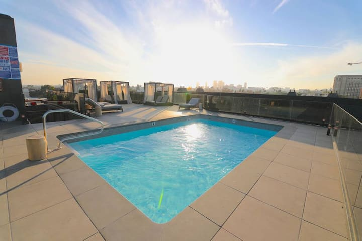 Luxury 3bd+Beverly Hills+Rooftop Pool+2prkng spots