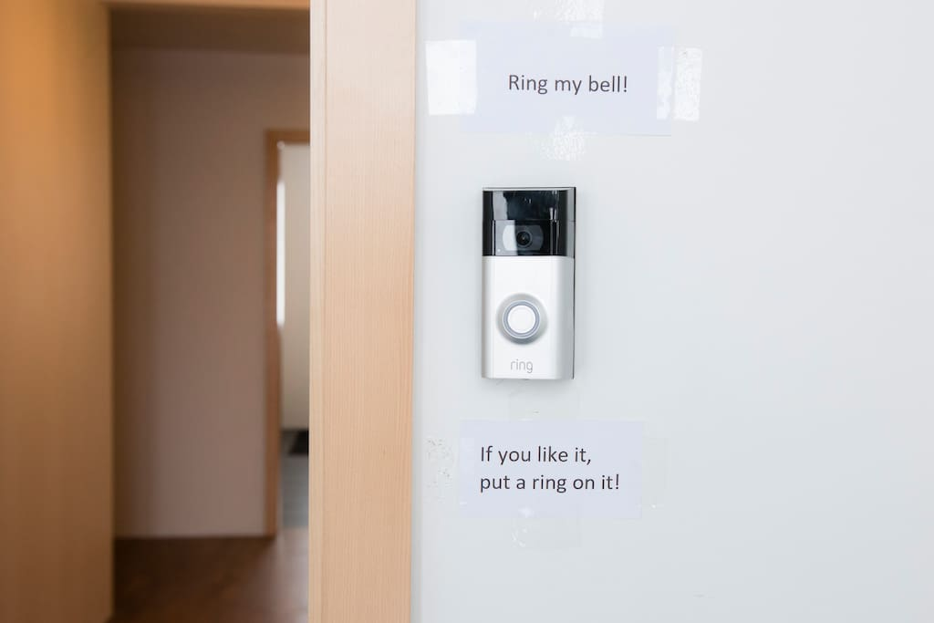 Doorbell with video and audio