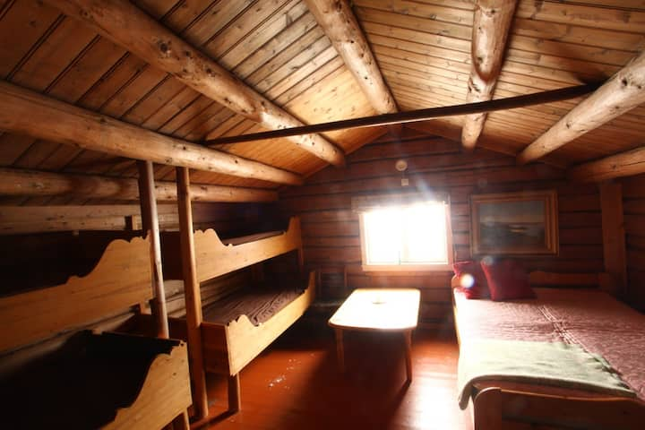 Experience simple living in Log cabin near Rena.