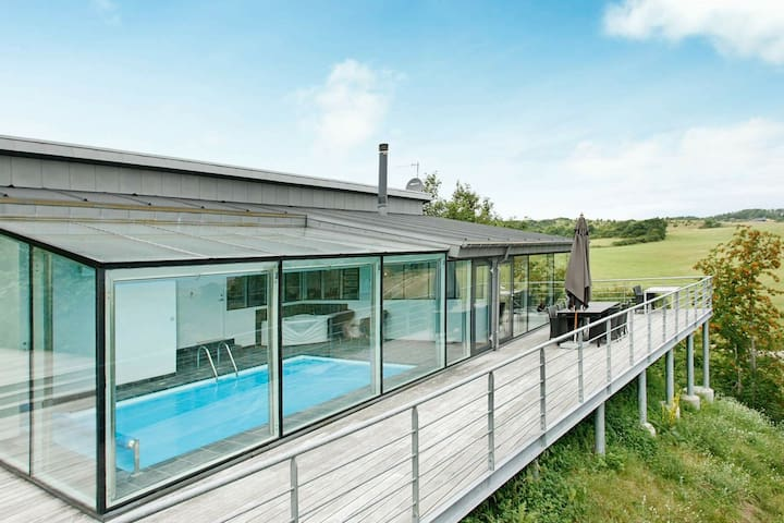 Opulent Holiday Home in Jutland with Swimming Pool