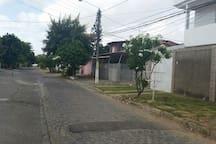 Rua...localização.