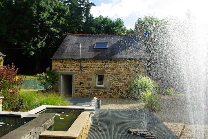 Maison de charme bretonne - Ploufragan - Allotjament sostenible a la natura