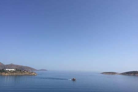 Big Blue Apartment - Agios Nikolaos