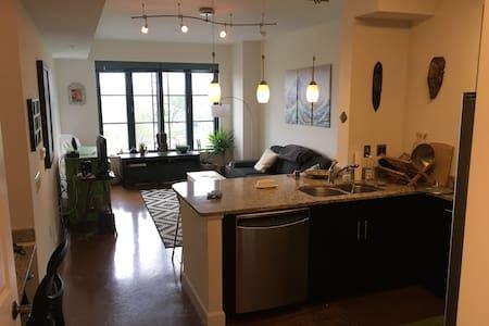 Bright fantastically located apartment above Metro - 华盛顿 - 公寓