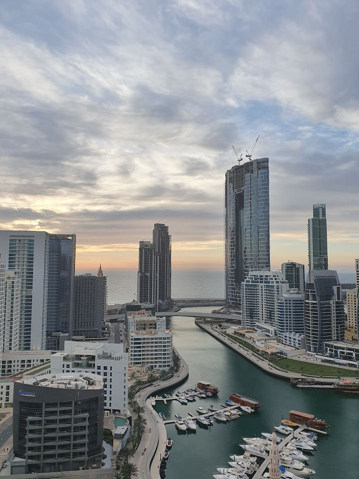 Sea view one bedroom Dubai Marina