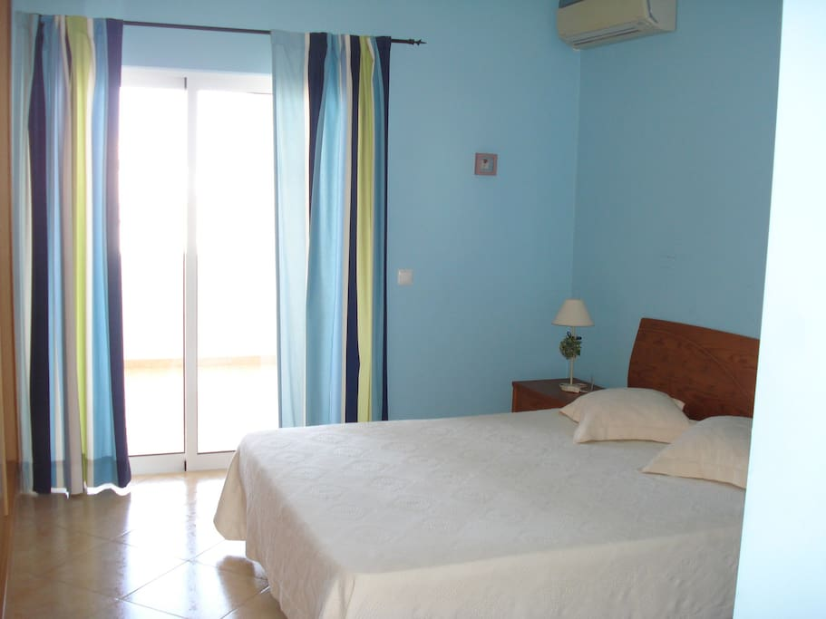 Main room with Wc and terrace, Air conditioner