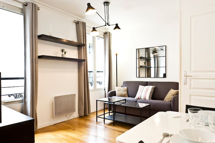 28sqm one-bedroom in Batignolles #8