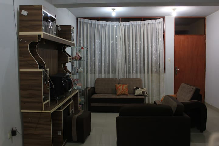 Hogar Familiar para tu estadía en el Perú bonito.