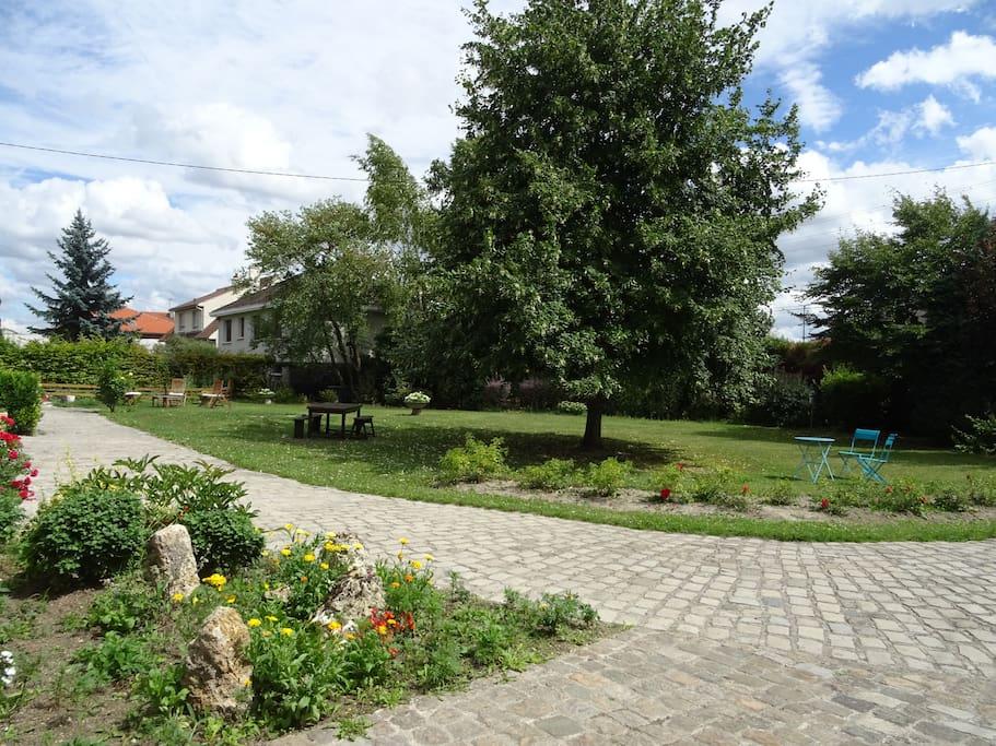La campagne la ville confort et tranquillit maisons for Location maison reims et alentours