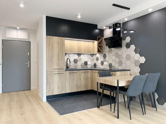 Luksusowy, nowoczesny apartament w stylu loft