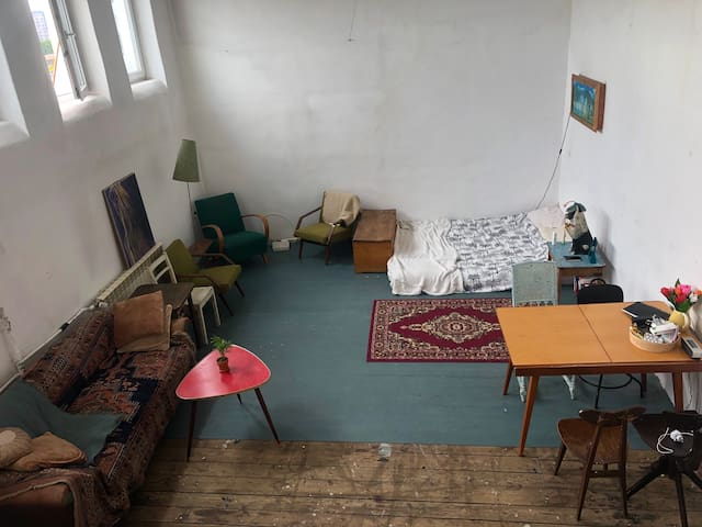 Bohemian loft in the heart of Warsaw