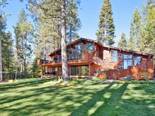 Dollar Point Modern Luxury Lakeview, North Tahoe, Hot Tub, DP Amenities (summer)