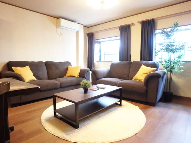 living area - can sleep on the sofa.