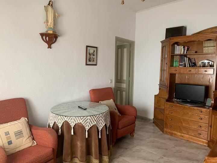 Sapcious apartment in Salamanca city center