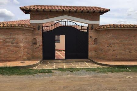 Casa Quinta villa de leyva (sutamarchan) - Bogotá - House