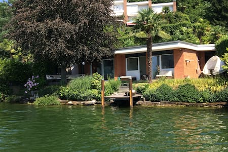 Beach House in Lugano (Agno) - Collina d'Oro